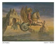 Capricorn - limited edition fine art print by Jake Baddeley