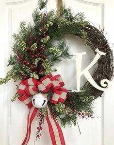 Selection Gisela Graham Metal Jingle Bell Colourful Christmas Wreaths Decoration