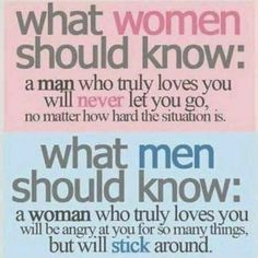 Facts about men and relationships