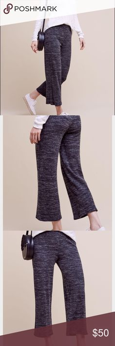 Anthropologie Dolan Left Coast Knit Pants-medium Anthropologie Dolan Left Coast Knit Pants in size medium. The perfect pants for running errands, or lounging at home. Gorgeous fit and super soft and cozy. Perfect for fall and winter! Worn once. Pants Wide Leg