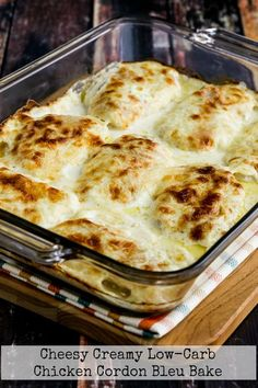 keto dinner recipes Cheesy Creamy Low-Carb Chicken Cordon Bleu Bake is so delicious that you definitely won't miss the breaded coating. Pork Recipes, Cooker Recipes, Mexican Food Recipes, Low Carb Recipes, Healthy Recipes, Keto Chicken Thigh Recipes, Healthy Low Carb Dinners, Recipies, Dairy Recipes