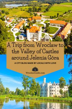 Just two hours from Wroclaw, you will find the highest density of castles and palaces in Europe. They are stunning! We made some castle hopping and share our favourites with you! Poland Travel, Castle Ruins, Beautiful Castles, Hotel Spa, Public Transport, Palaces, Event Venues, Travel Guide, Stuff To Do