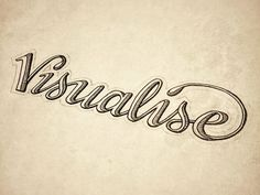 INSPIRED BY… THE HAND-LETTERING OF SEAN MCCABE pinned with Bazaart