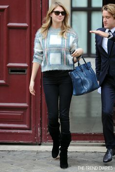 Kate Upton out in Paris, France - September 30, 2013