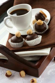 Caffè e dolcetti