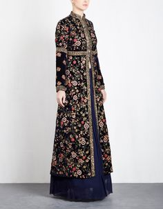 Batik Fashion, Abaya Fashion, Indian Fashion, Fashion Dresses, Indian Gowns Dresses, Pakistani Dresses, Dress Batik Kombinasi, Moslem Fashion, Mein Style