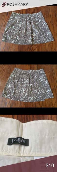 J. Crew SZ 14 Skirt In excellent condition. No holes. No rips. No tears. J. Crew Skirts Midi
