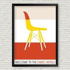 Pôster Eames Eiffel