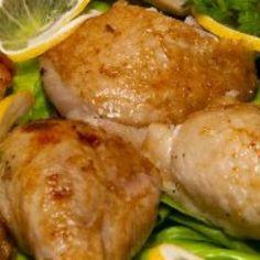 Udka z kurczaka w cytrynie