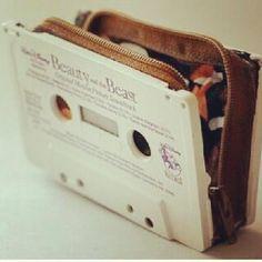 Cassette tape purse