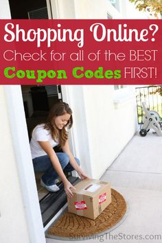 Shopping online for gifts this year?  Be sure to check for any current coupon codes that are available for the stores you want to shop at!  There seems to always be codes for a percentage off your order and even for free shipping!