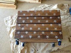Skrzynki drewniane na salonach