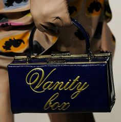 Moschino Cheap And Chic - box bag love! Want one of these so bad!