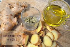 Ginger is a go-to in terms of preparing a cannabis salve recipe that will have more penetrating effects in those difficult joint areas like hips and shoulders.