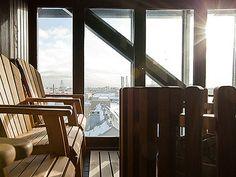 Radisson Blu Seaside Hotel in Helsinki Business District Outdoor Chairs, Outdoor Furniture, Outdoor Decor, Helsinki, Finland, Seaside, Lounge, Home Decor, Steam Room