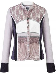 Blusen-Jacke Just White mehrfarbig