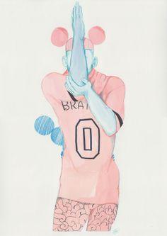 Man - Bobby Abley #2 Menswear A/W 2014 by Artaksiniya £700 (Excluding VAT)