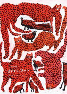 画家ミロコマチコの個展 3会場で同時開催 | Fashionsnap.com