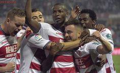 El Granada, con 11 nacionalidades en su equipo titular, golea al Betis