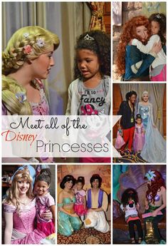 Tips for meeting ALL of the Disney princesses at Disney World. Where to find them and when, plus questions you can ask them for more interactive fun, photos and magical memories that will last a lifetime. #disney #travel #disneyworld