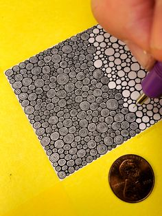 Ideas For Drawing Ideas Zentangle Circles Doodle Art Drawing, Zentangle Drawings, Doodles Zentangles, Mandala Drawing, Pencil Art Drawings, Abstract Drawings, Drawing Ideas, Doodling Art, Pen Doodles