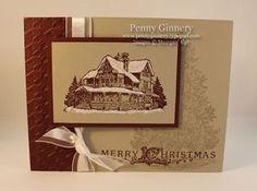 Christmas lodge-LOVE THIS STAMP!