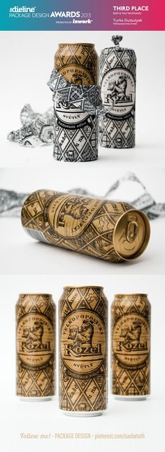 The Dieline Package Design Awards 2013: Beer & Malt Beverages, 3rd Place - Velkopopovicky Kozel