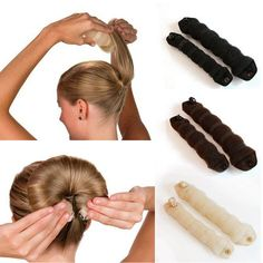 Hair Styling Donut //Price: $8.99 & FREE Shipping //     #hairsaleshop #hairaccessories