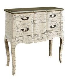 Look at this Cream Antique Cabinet on #zulily today!