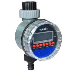 Electronic Water Timer for Garden Iirrigation Easy Use No Wiring Required