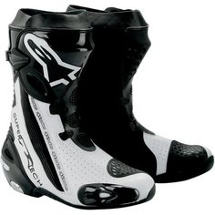 Special Offers - Alpinestars Supertech R Mens Leather Street Racing Motorcycle Boots  Black/White / Size 46 - In stock & Free Shipping. You can save more money! Check It (May 11 2016 at 09:03AM) >> http://motorcyclejacketusa.net/alpinestars-supertech-r-mens-leather-street-racing-motorcycle-boots-blackwhite-size-46/