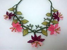 Oya, needle lace from Turkey