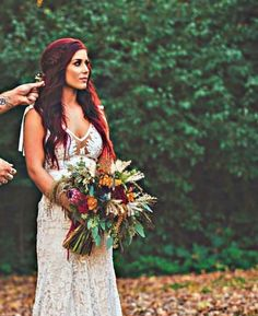 Wedding Hairstyles Throughout History – Model Hairstyles Wedding Vows, Wedding Bells, Boho Wedding, Fall Wedding, Dream Wedding, Wedding Dresses, Chelsea Houska Hair, Chelsea Houska Wedding Dress, Red Hair Brides