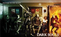 Dark Souls | 23inch x 14inch | Video Game Silk Printing Seide Plakat Poster 021