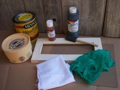 Prim Mart Crafter's Online Community - How to Paint a Primitive Frame