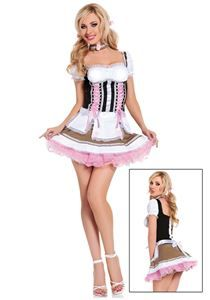 Heidi Ho Beer Girl Adult Womens Costume - 311712 | trendyhalloween.com