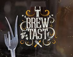 """Check out new work on my @Behance portfolio: """"Brewtast 2017"""" http://be.net/gallery/65594997/Brewtast-2017"""