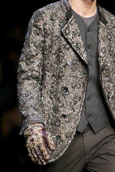 Dolce & Gabbana Men's Winter 2015 collection (Erebor-Raised Bilbo AU)