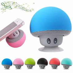 SUNMENCO Six Colors Mini Bluetooth Speaker Suction Cup Phone Holder Portable Stereo Speakers Wireless Music Player Built-in Lithium Battery and Mic Hands-Free for iPhone ipad Android Phones Laptop Bluetooth Gadgets, Mini Bluetooth Speaker, Waterproof Bluetooth Speaker, Wireless Speakers, Wireless Headphones, Stereo Speakers, Portable Speakers, Cup Phones, Phone Holder
