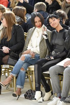 Jada Pinkett Smith and Willow Smith Have the Coolest Mother-Daughter Date in History at Paris Fashion Week