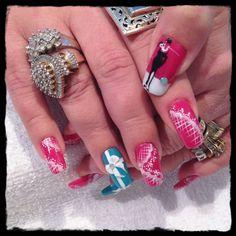 Breakfast @ Tiffany's Nail Art