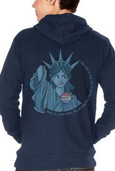 Nasty Lady Liberty (Hoodie)