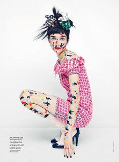 Pop Art Collage Editorials : flair april 2014
