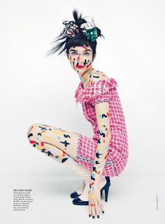 Vogue Australia March 2014 | Janice Alida by Emma Summerton [Editorial]