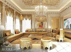 Moroccan Majlis Design - Men and Women Majlis Interior Design