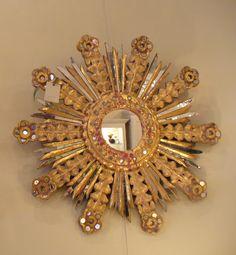 Sunburst Mirror… Found at Elizabeth Stuart Design in Charleston, SC.
