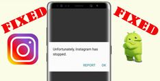 """How To #Fix """"#Unfortunately, #Instagram Has #Stopped"""" On #Android. Check #Internet Connection. #Restart #Device. #Update The #InstagramApp. #ClearCache And #ClearData of Instagram #App. Check If Instagram Is #Down. Reset App Preferences. Use #AndroidRepair #Software. Play Store App, Play Game Online, Go To Settings, Data Recovery, Samsung Galaxy S3, Galaxy Note, Connection, Software, Android"""
