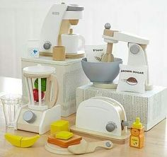 Get their imaginations flowing with Pottery Barn Kids' play kitchens and toy kitchen sets. Let them play house and cook for you with these quality play kitchens and more. Pottery Barn Kids, Toddler Toys, Kids Toys, Children Play, Baby Toys, Toddler Bed, Toddler Playroom, Play Kitchen Accessories, Kids Play Kitchen