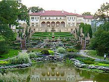 The Philbrook Museum in Tulsa, Oklahoma is one of the top 50 fine art museums in the United States.