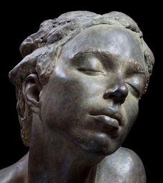 Lotta Blokker, born in Amsterdam in 1980 - Myrrha, 2005 bronze
